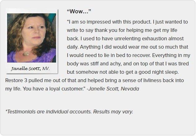 Janelle Scott Testimonial