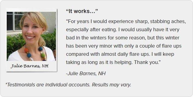Julie Barnes Testimonial