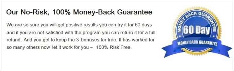 60 Day Money Back Guarantee Restore 3